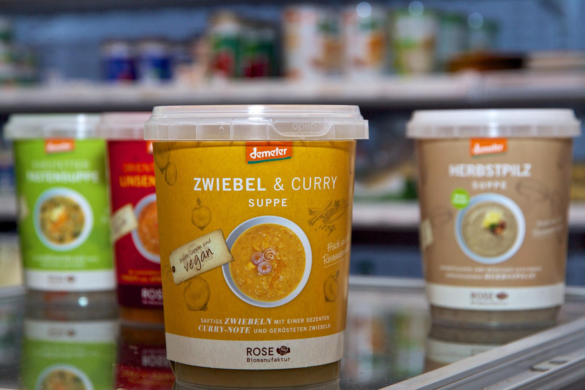 Tress Suppen in Demeter Qualität