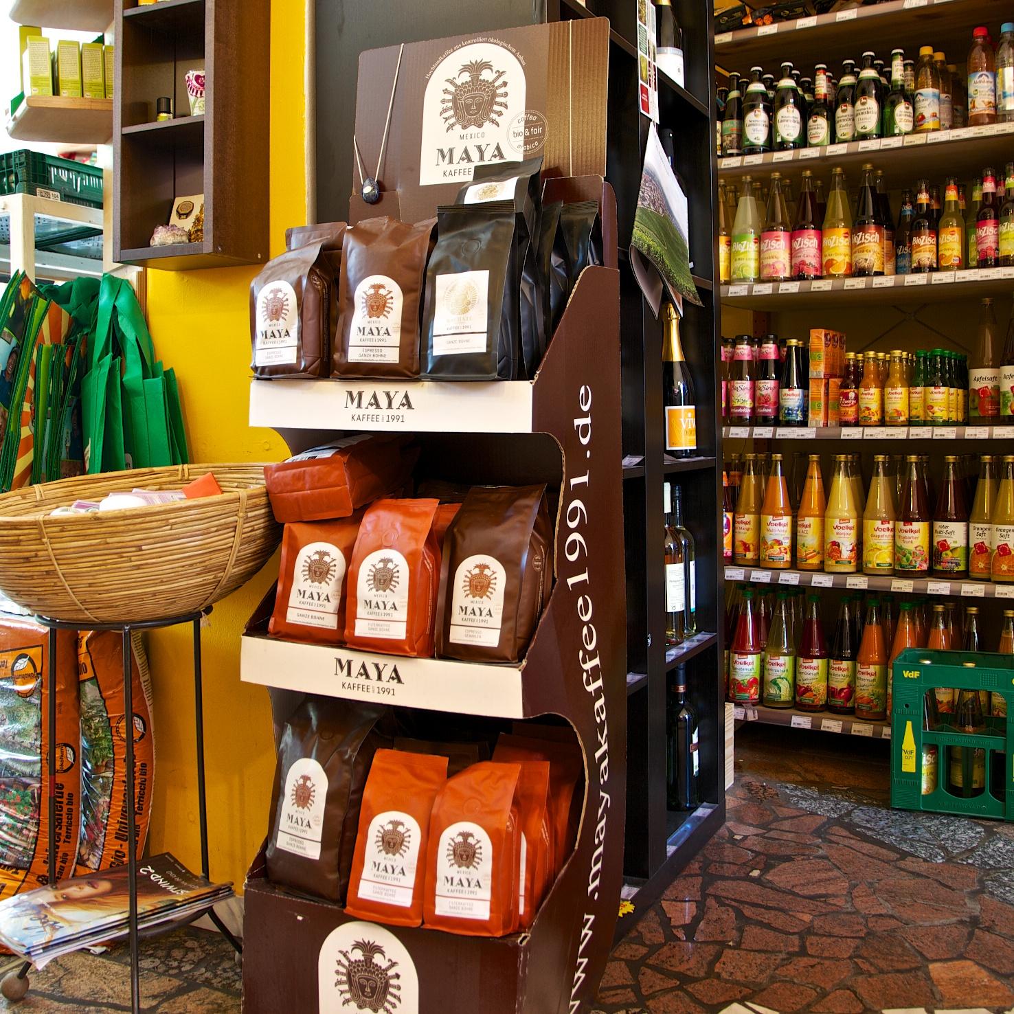 Maya Kaffee - im Stehcafé und natürlich auch zum Mitnehmen