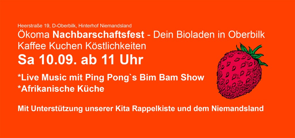Ökoma Nachbarschaftsfest 2016