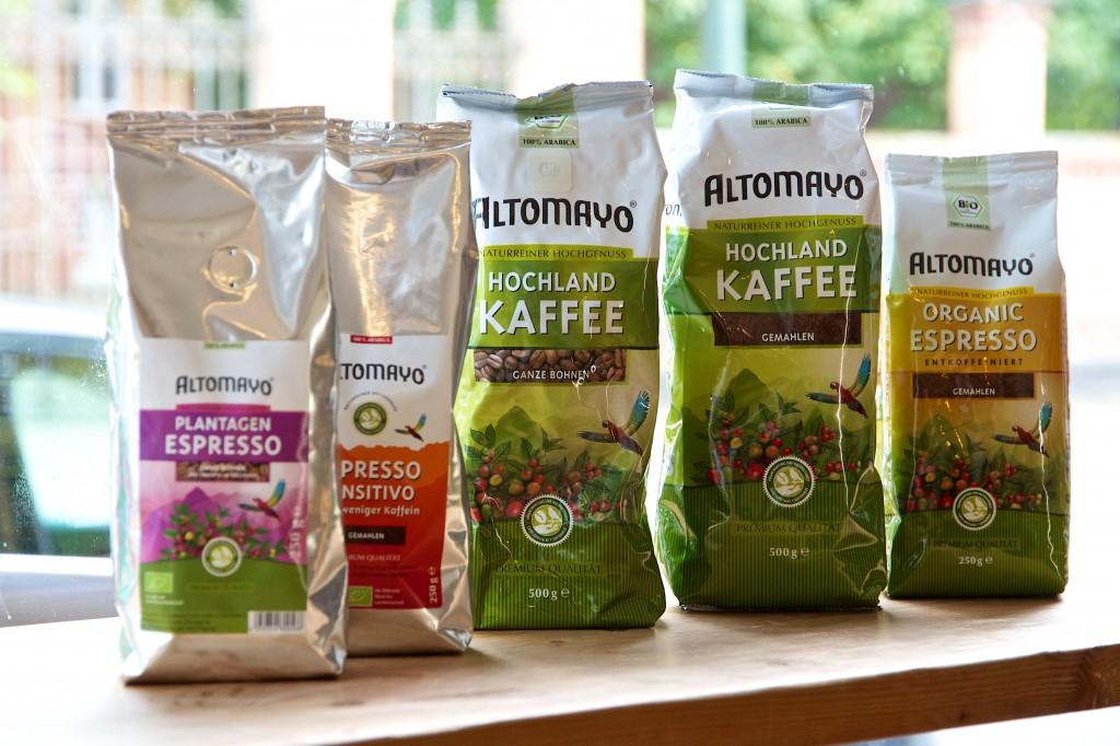 Kaffee von Altomayo aus den peruanischen Anden